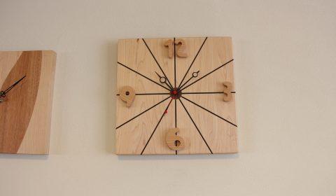 手作り時計(放射)