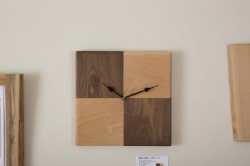 手作り時計(ブロック)